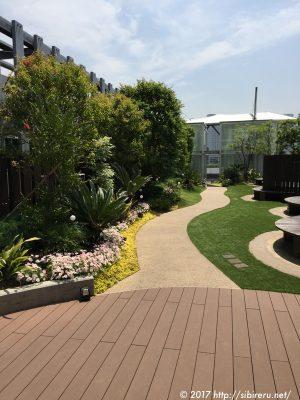 ベイクォーター屋上庭園