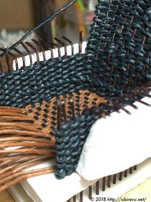 ミニチュア籐椅子作り方画像アップ