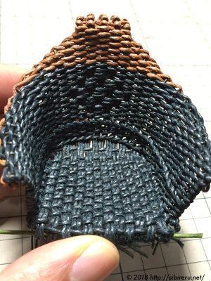 ミニチュア籐椅子エコクラフト