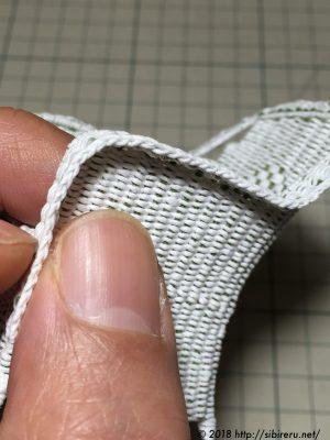 ミニチュア籐椅子縁作り方