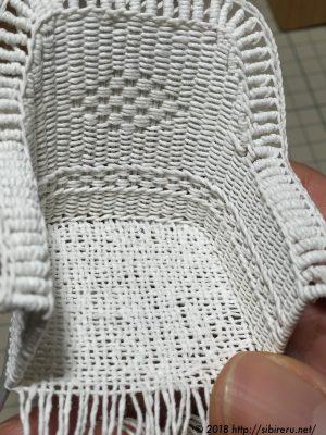 ミニチュア籐椅子試作2号