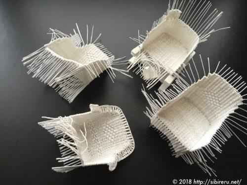 ミニチュア籐椅子失敗作