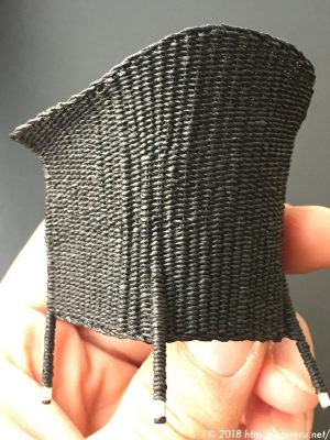 ミニチュア籐椅子完成品2