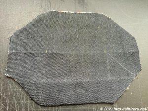 デニム手縫いマスク作成3