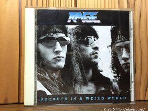 RAGE「SECRETS IN A WEIRD WORLD」